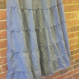 Style & Co Skirts - Style&co chambray boho maxi skirt